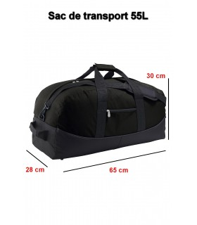 Sac de transport personnalisable 55L